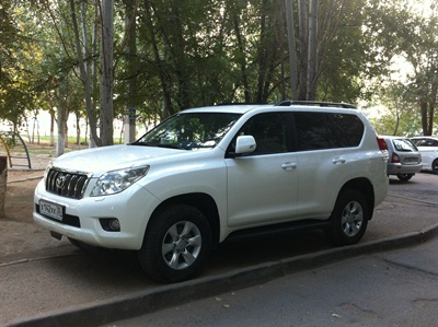 Land Cruiser Prado. VIp Такси и трансфер в Астрахани.